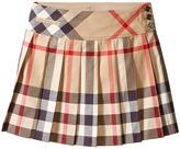 Burberry Serena Check Skirt Girl's Skirt