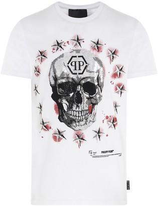 Philipp Plein Stars And Skulls T-Shirt