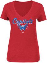 Majestic Women's Washington Capitals Match Penalty Glitter T-Shirt