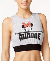 Disney Juniors' Mickey & Minnie Graphic Bra Top