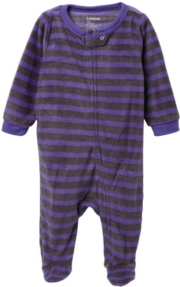 Leveret Striped Fleece Sleeper