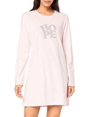 Schiesser Women's Sleepshirt 1/1 Arm, 85cm Nightie,(Size: 046)