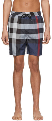 Burberry Navy Guildes Swim Shorts