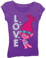 Freeze Trolls Poppy Love Tee (Little Girls)
