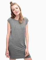 Splendid Rayon Jersey Braided Shoulder Dress