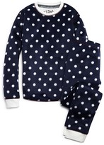 PJ Salvage Girls' Polka Dot Pajama Set - Little Kid