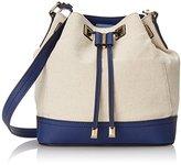 Calvin Klein Canvas Drawstring Shoulder Bag