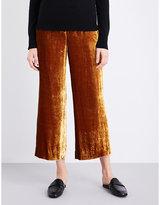 A.l.c Robbie Wide-leg Velvet Trousers