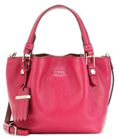 Tod's Flower Micro Leather Bag