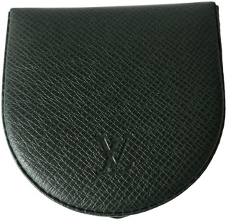 Louis Vuitton Coin Card Holder Green Leather Small bags, wallets & cases