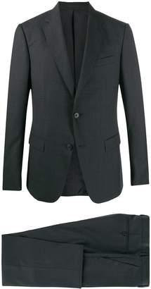 Ermenegildo Zegna micro check pattern suit