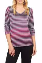FDJ French Dressing Rainbow V Neck Tee