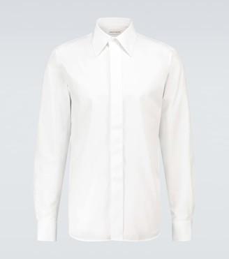 Alexander McQueen Classic-fit cotton shirt