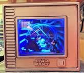 Disney NEW Parks Olszewski Gallery of Light STAR WARS Jedi Mickey Darth Goofy Emperor Stitch 3-D Box