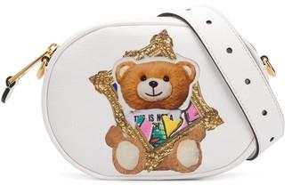 Moschino Frame Teddy print belt bag