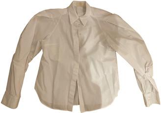 Sara Battaglia White Cotton Tops