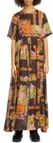 Collina Strada Ritual Floral Print Maxi Dress