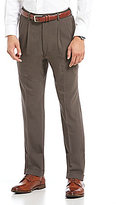 Roundtree & Yorke Double Pleated Smart Non Iron Stretch Gab Pants