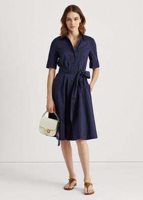 Ralph Lauren Cotton-Blend Shirtdress