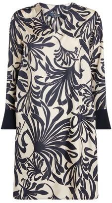 Max Mara Sagitta Silk Dress