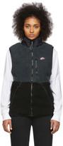 Nike Black and Grey Winter Vest