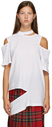 Toga Off-White Cut-Out T-Shirt
