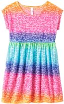Girls 4-16 SO® Burnout Cheetah Ombre Swim Cover-Up