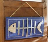 Pottery Barn Kids Fish Plaque