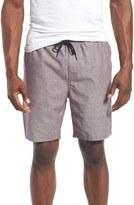 Tavik 'Ellis' Drawstring Chambray Dobby Shorts