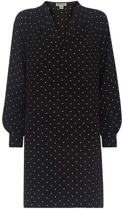 Whistles Spot Print Shift Dress