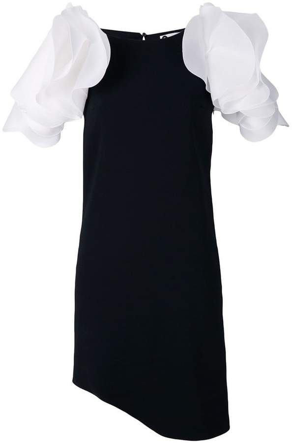 Lanvin puff sleeve dress