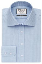 Thomas Pink James Houndstooth Regular Fit Dress Shirt