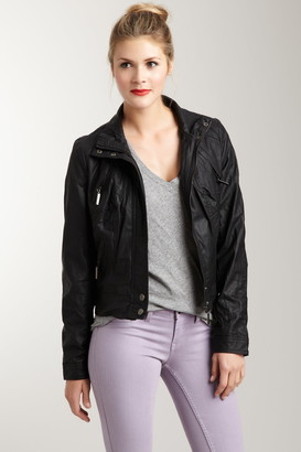 Vertigo Faux Leather Jacket