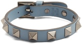 Valentino Rockstud-embellished leather bracelet