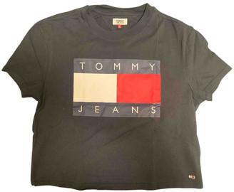 Tommy Jeans Black Cotton Tops