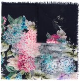 Gucci Blooms print shawl - women - Silk/Cashmere - One Size