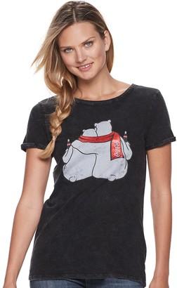 Rock & Republic Women's Coca-Cola Polar Bears Graphic Tee