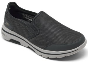 Skechers Men's GOwalk 5 - Delco Slip-on Walking Sneakers from Finish Line