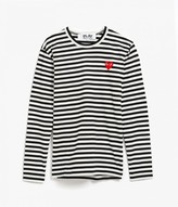 Comme des Garcons Men's Striped L/S Tee