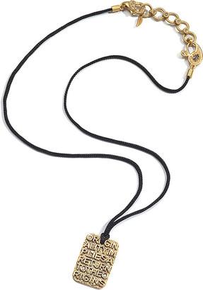Coomi Sagrada Passion 20K The Origins Dog Tag Necklace