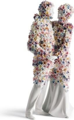 Lladro Love III Blossoms Figurine