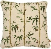 Poodle & Blonde Square Money Tree Bamboo Pillow