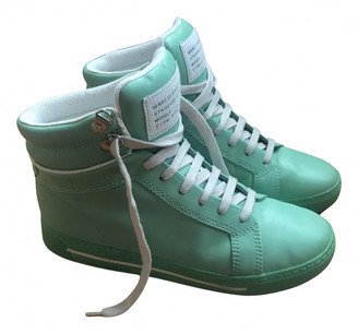 Marc by Marc Jacobs Green Leather Trainers