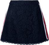 GUILD PRIME floral lace A-line skirt