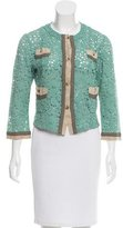 Etro Lace Button-Up Cardigan