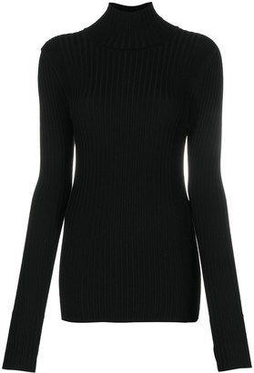 Paco Rabanne Roll-Neck Fitted Jumper