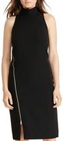 Lauren Ralph Lauren Crepe Zip Front Dress