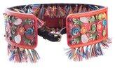 Dolce & Gabbana Embellished Sicily Belt