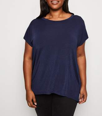 New Look Curves Angel Wing Gem Back Top