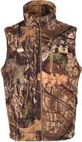 Mossy Oak Men's Outerwear Vests Mossy - Brown & Green Country Camo Wasatch Faux-Sherpa Vest - Men